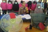 Polisi tetapkan 10 Wabin tersangka pembakar Lapas Perempuan Palu