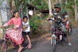TMMD, sebagian jalan Desa Cilibang selesai diaspal