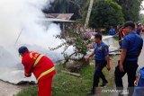 Kebakaran di Agam, satu rumah dan sepeda motor hangus terbakar