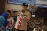 Kwarcab Pramuka Waykanan pimpin persiapan Hari Pramuka ke-58