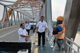 Kadis PUPR Kalteng pastikan tak ada kerusakan di Jembatan Kahayan