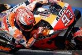 Teknologi baju yang didesain khusus balap selamatkan Marquez dari kecelakaan