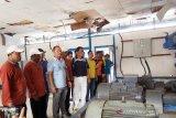 Eddy Raya tinjau pengolahan air bersih di PDAM Tirta Barito