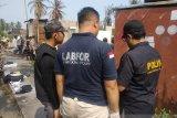 VIDEO - Mabes Polri lakukan olah TKP kebakaran tewaskan dua orang di Rohil