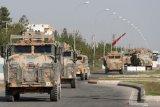 Pemberontak Suriah didukungan Turki rebut kota di perbatasan