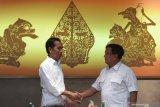 Prabowo Subianto diundang Presiden Joko Widodo ke istana