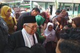 Ma'ruf Amin mengaku prihatin peristiwa penyerangan terhadap Wiranto