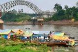Sungai Barito kembali surut, angkutan besar terganggu