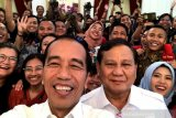 Jokowi, Prabowo project message of reconciliation to strengthen Indonesia