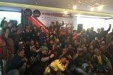 Komunitas Bikers Indonesia meramaikan konser