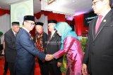 Pimpinan DPRD Resmi Dilantik, Gubernur Ajak Kerja Cepat