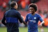 Willian kasih kode ke Chelsea  menjelang habis masa kontraknya