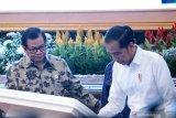 Presiden Jokowi tandatangani prasasti digital resmikan operasi Palapa Ring
