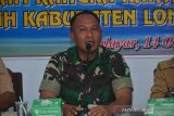 TNI AD merestorasi sungai di Lombok Barat