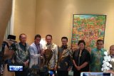 Pimpinan MPR ke rumah Sandiaga Uno, undang hadiri pelantikan Presiden