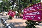 Ini bunyi pesan karangan bunga untuk Wiranto yang dikirim ke kantor Kementerian Polhukam