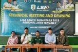 Liga Santri Nusantara Jateng 2019 bakal diikuti 16 tim