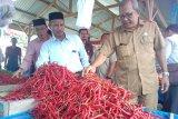 Sejumlah harga kebutuhan pokok mengalami kenaikan di  Aceh Barat