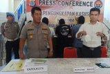 Polresta Manado ungkap dua kasus narkotika sabu-sabu
