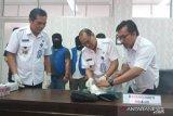 BNNP tangkap dua pria pembawa 400 gram sabu yang dikendalikan Lapas