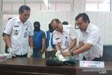 BNNP Kalimantan Tengah tangkap  pembawa 400 gram sabu yang dikendalikan Lapas