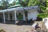 TMMD kerja bakti bersihkan gedung ibadah di Sangihe