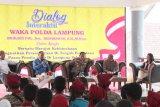 Polda Lampung  dialog interaktif  Kebhinekaan di Lampung Selatan