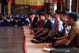 Siswa belajar di Museum Balla Lompoa untuk lestarikan kebudayaan Gowa