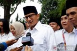 Sandiaga Uno joins Gerindra Party's national meeting Wednesday
