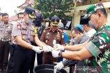 Polres Sukamara musnahkan sabu-sabu Rp1 miliar