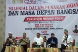 Polri minta dukungan berbagai pihak untuk atasi bahaya penyebaran hoaks