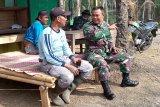 Kodim Cilacap pererat komunikasi dengan warga Desa Cilibang