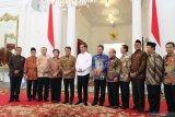 Presiden Jokowi: masih ada muka lama di kabinet baru