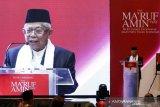 KH Ma'ruf tetap ketua MUI hanya nonaktif karena permintaan rakernas