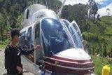 KKB tembaki Helikopter milik PT Intan Angkasa Air Service di Kabupaten Puncak Papua