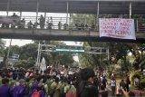BEM SI mengakhiri aksi damai dengan Sumpah Mahasiswa Indonesia