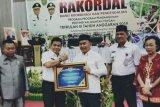 Tiga kali WTP, Pemkab Bartim terima penghargaan dari Kemenkeu RI