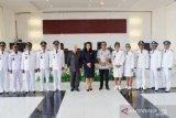 Bupati Sitaro Lantik 10 Pejabat Kapitalau