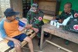Satgas TMMD 106 Kodim Cilacap cek kesehatan warga Desa Cilibang