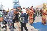 Lanal Palembang  fasilitasi BI lakukan pelayanan di pulau 3T