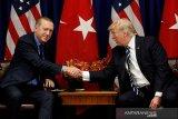 Trump sebut gencatan senjata Turki di Suriah Utara permanen