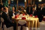 Wapres China diihibur Tari Gambyong saat jamuan makan malam di Solo