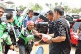 ACT Lampung bersama  Gojek gelar aksi KOMPAK