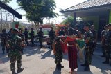 Satgas Pamtas Yonif Raider 142/KJ terima kedatangan Pangkoops