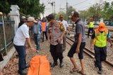 Bocah 10 tahun tewas setelah tertabrak KRL di Depok