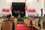 Presiden: Setiap momen bersama menteri adalah spesial