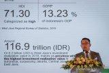Gubernur Jawa Barat, Ridwan Kamil memberikan kata sambutan pada acara