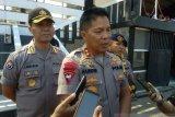 Polda  gelar patroli  jelang pelantikan presiden