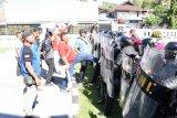 Lantamal VIII gelar pasukan pengamanan jelang pelantikan Presiden-Wapres