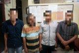 Seorang PNS dan tiga warga Nagan Raya ditangkap polisi saat main judi